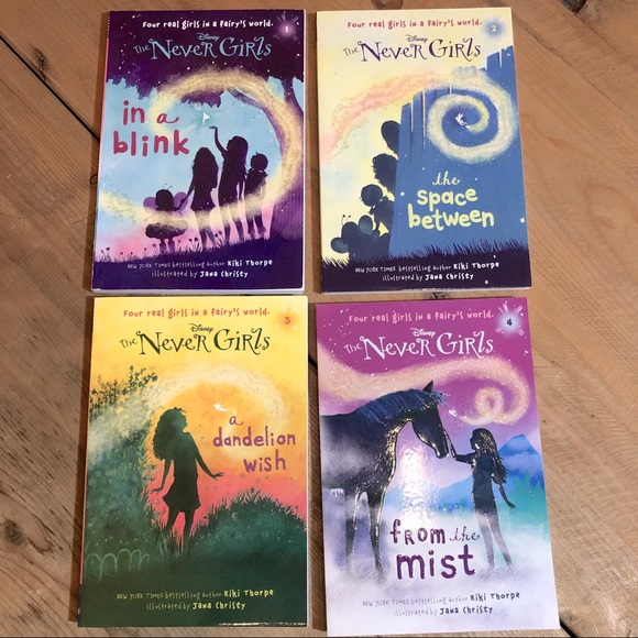 Disney The Never Girls book collection #1